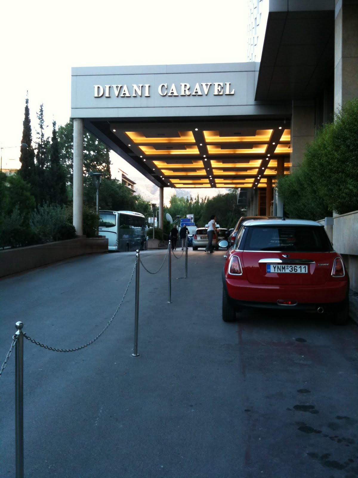 Divani Caravel Hotel Airport Shuttle I Love To Tell The Story October 2010