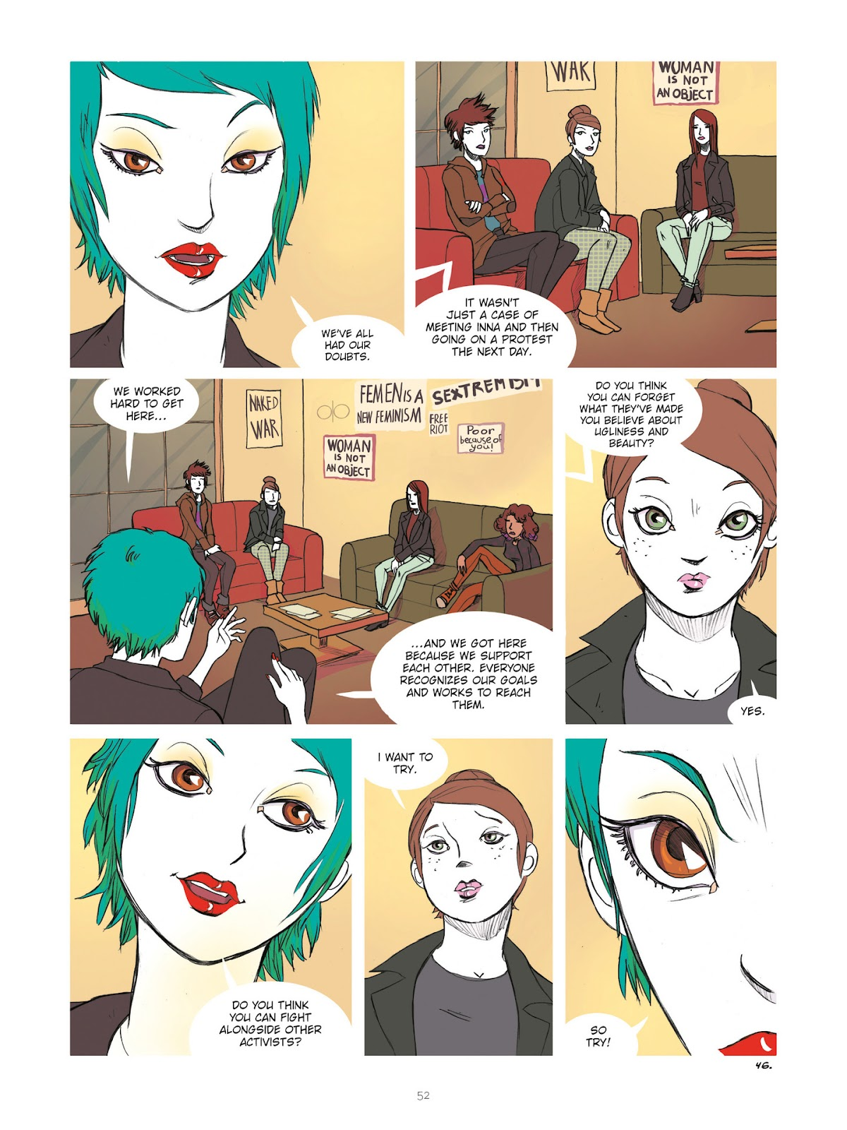 Read online Diary of A Femen comic -  Issue # TPB - 54