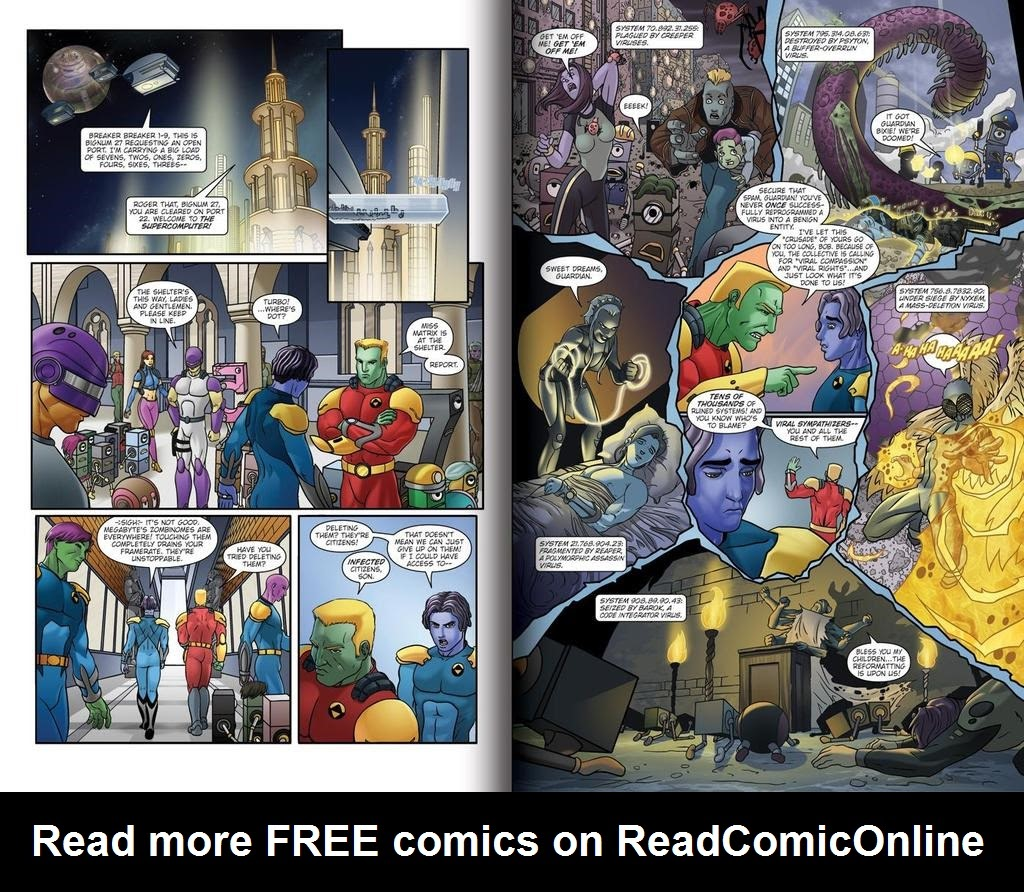 Read online ReBoot: Paradigms Lost comic -  Issue # Full - 4