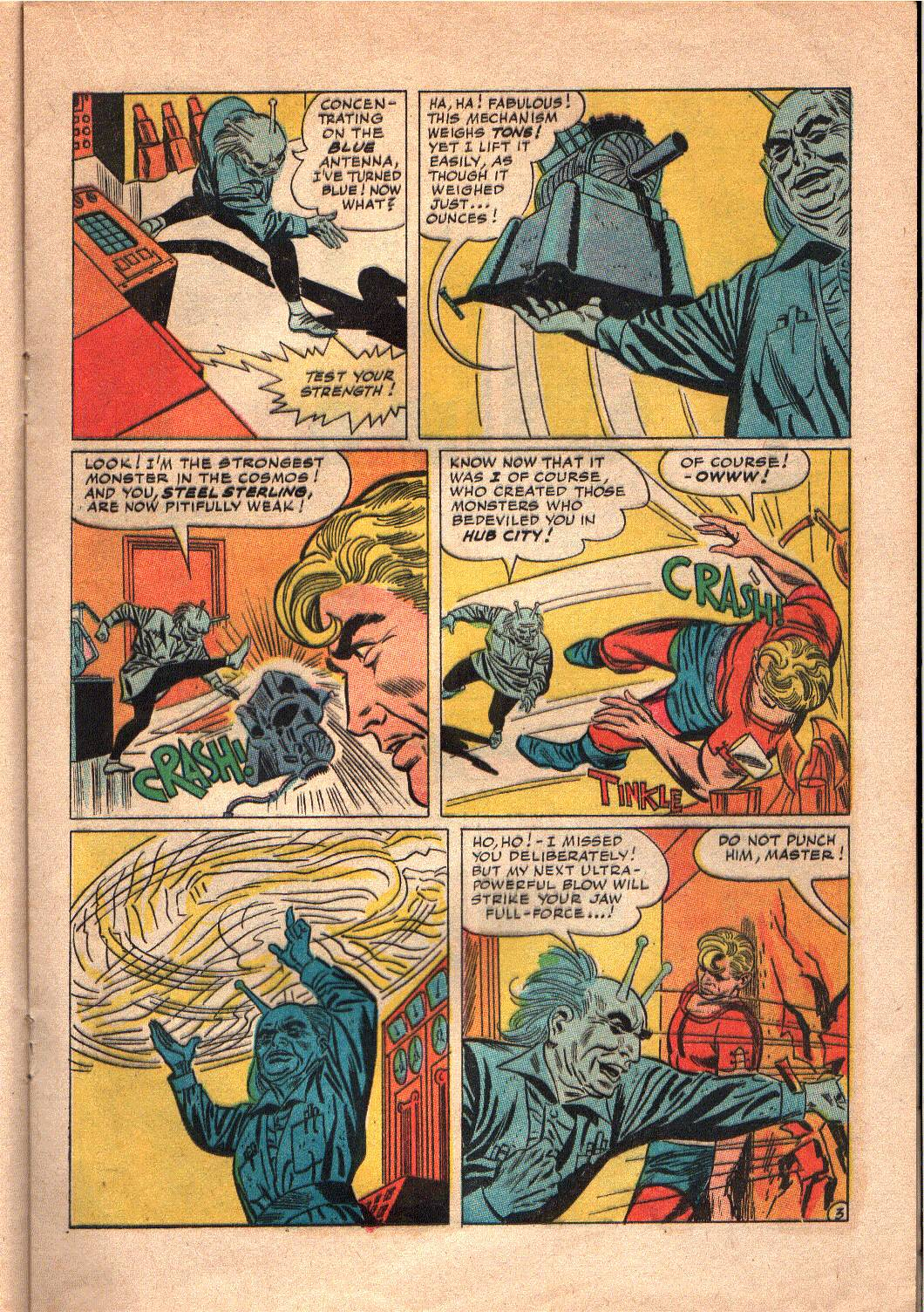 The Mighty Crusaders (1965) Issue #7 #7 - English 14
