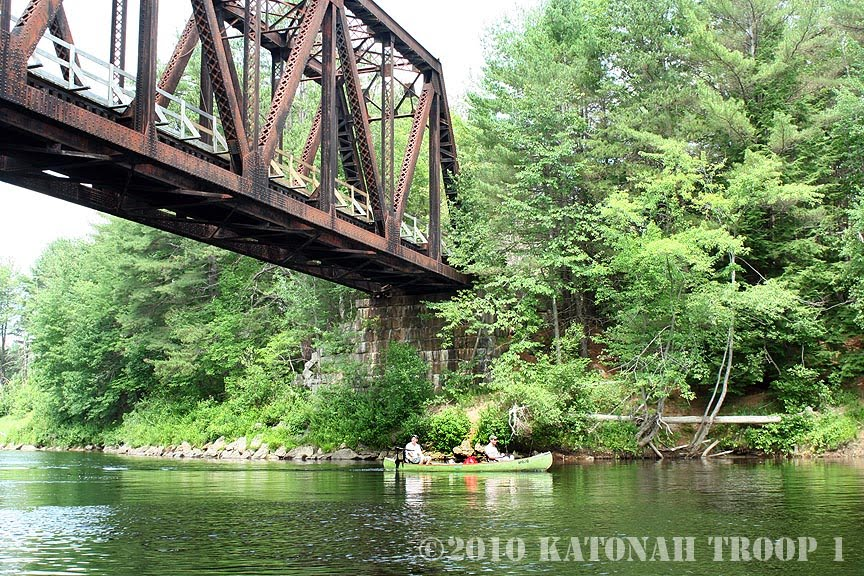 Troop 1 Katonah, New York: Maine Canoe Trip Photos