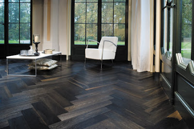 Herringbone Patterned Floor #2