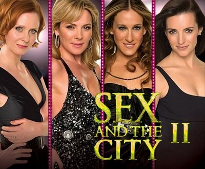 Length of sex and the city movie