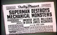 Mechanical Monsters: Headline