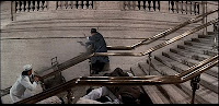 The Untouchables: Train station steps