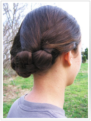 basic hair styles the s guide for re enactresses of the era 1840 | 1860 med length hairstyle 05