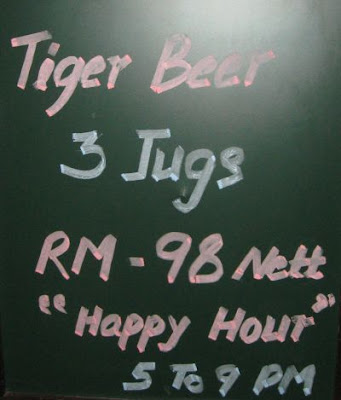 Pub dan Bistro Channel Happy Hours