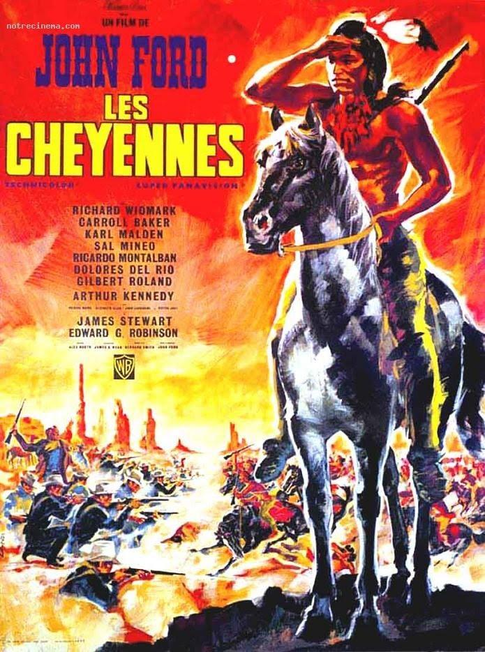 Les Cheyennes affiche