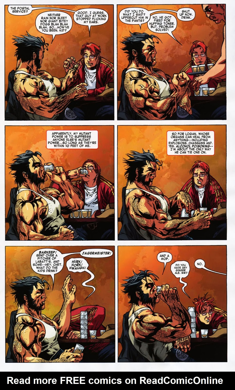 Read online Wolverine (2003) comic -  Issue #900 - 48