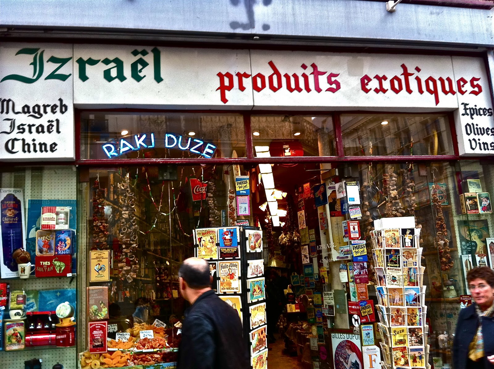 Izrael Image: Not Drinking Poison In Paris: Cocktail Curiosity Shop