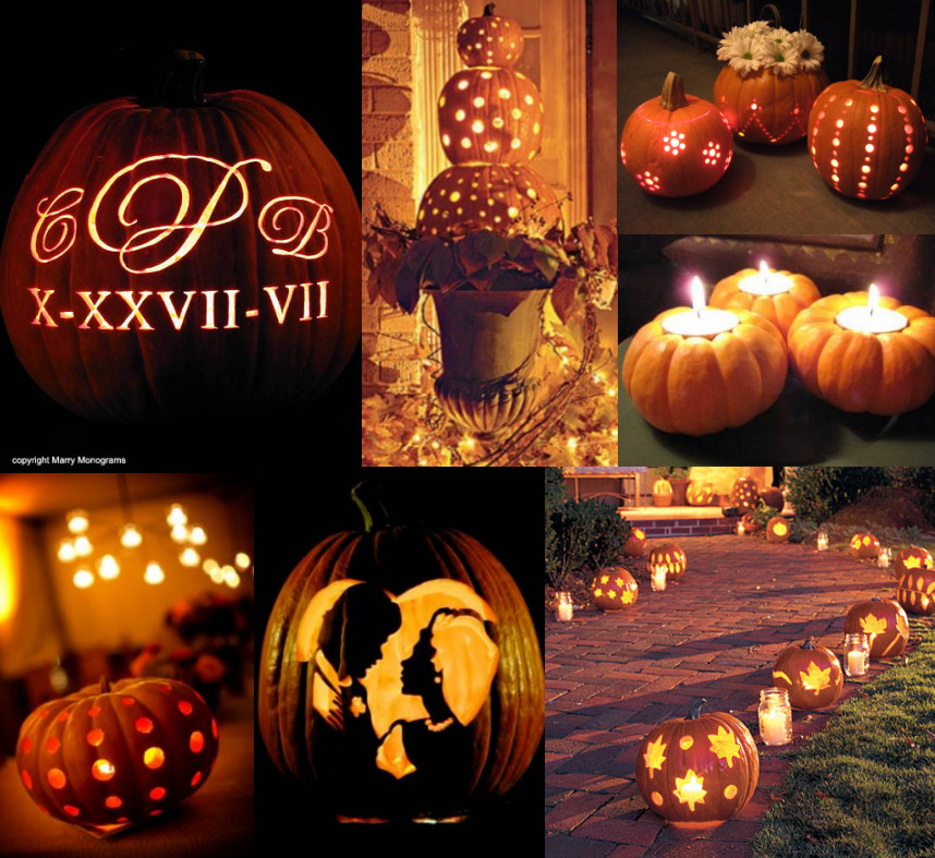 Carve Out A Place For Pumpkin Centerpieces My Wedding Reception