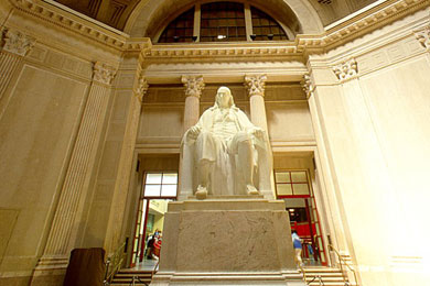 The Franklin Institute is a prominent museum and science center in Philadelphia. You can find a list of their upcoming exhibitions via their official website. You can also purchase tickets and memberships on the Franklin Institute website as well.