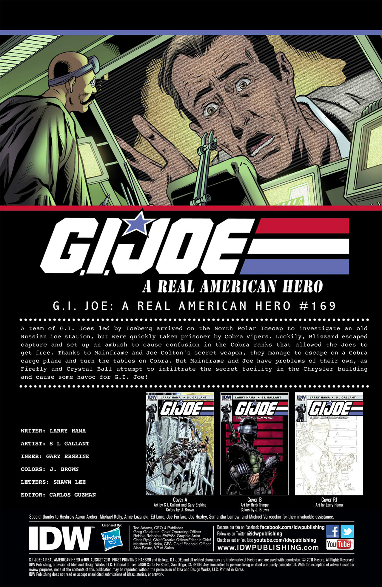 G.I. Joe: A Real American Hero 169 Page 3