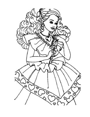 barbie princess coloring pages to print | Katy Perry Buzz