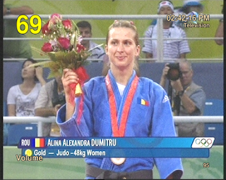 alina dumitru,Gold Medal at Beijing 2008 Olympic Games