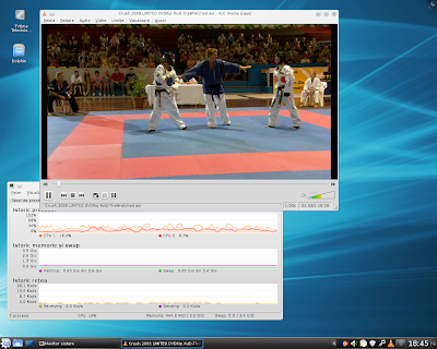 vlc and tvtime on linux using a graphic chipset radeon hd 3200