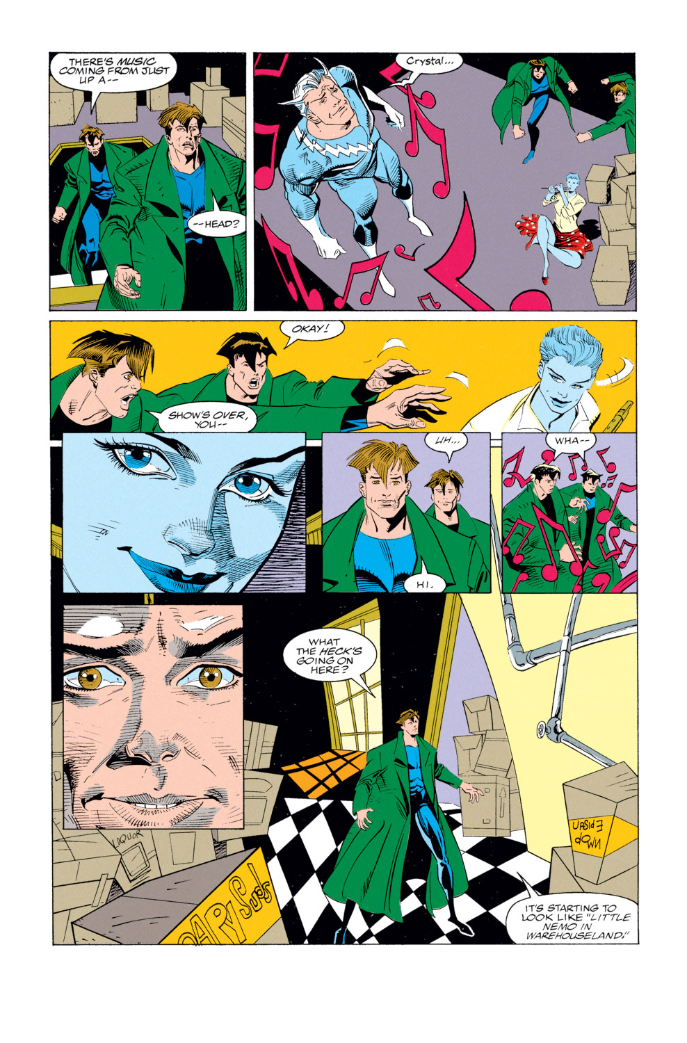 Read online X-Factor (1986) comic -  Issue #79 - 19