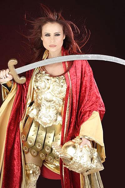 Zenobia Empress Of The East Zenobia S Terrible Curved Sword