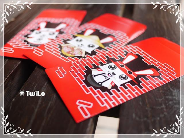TwiLo: 民國一百, 荷包滿滿!! Rabbit Red Design Envelope