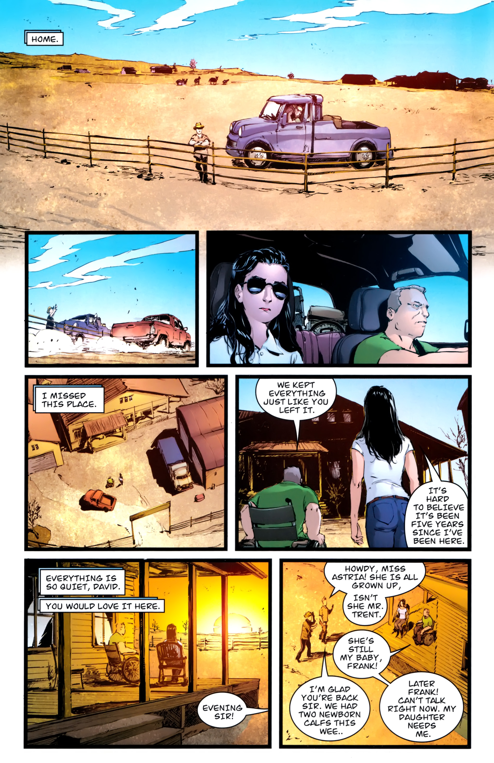 Read online Astria comic -  Issue #1 - 18