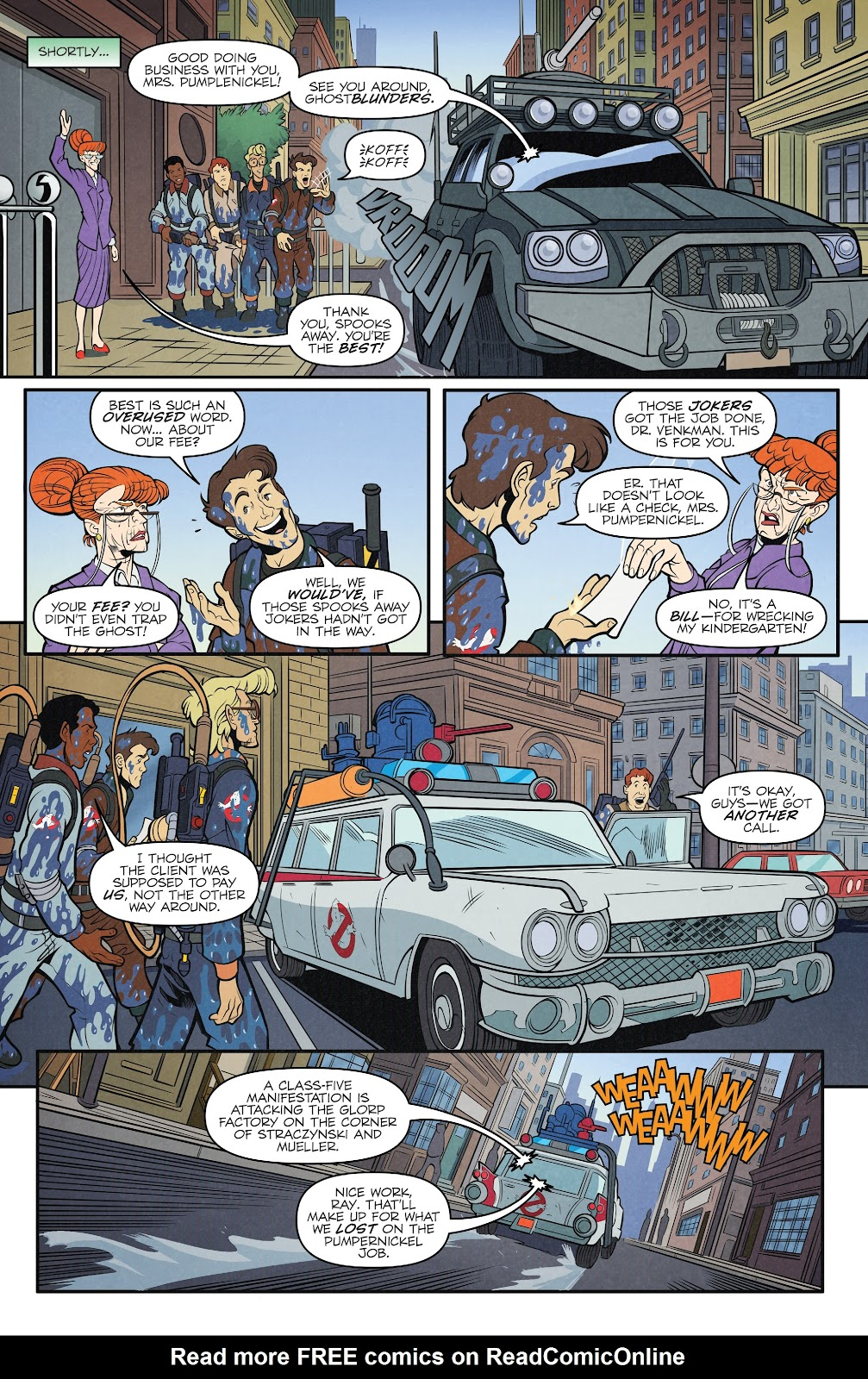 Read online Ghostbusters 35th Anniversary: The Real Ghostbusters comic -  Issue # Full - 9