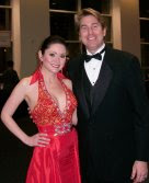 With my incredibly supportive husband at the 2009 Heart Ball