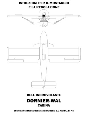Propnomicon: Dornier Wal Manual Page