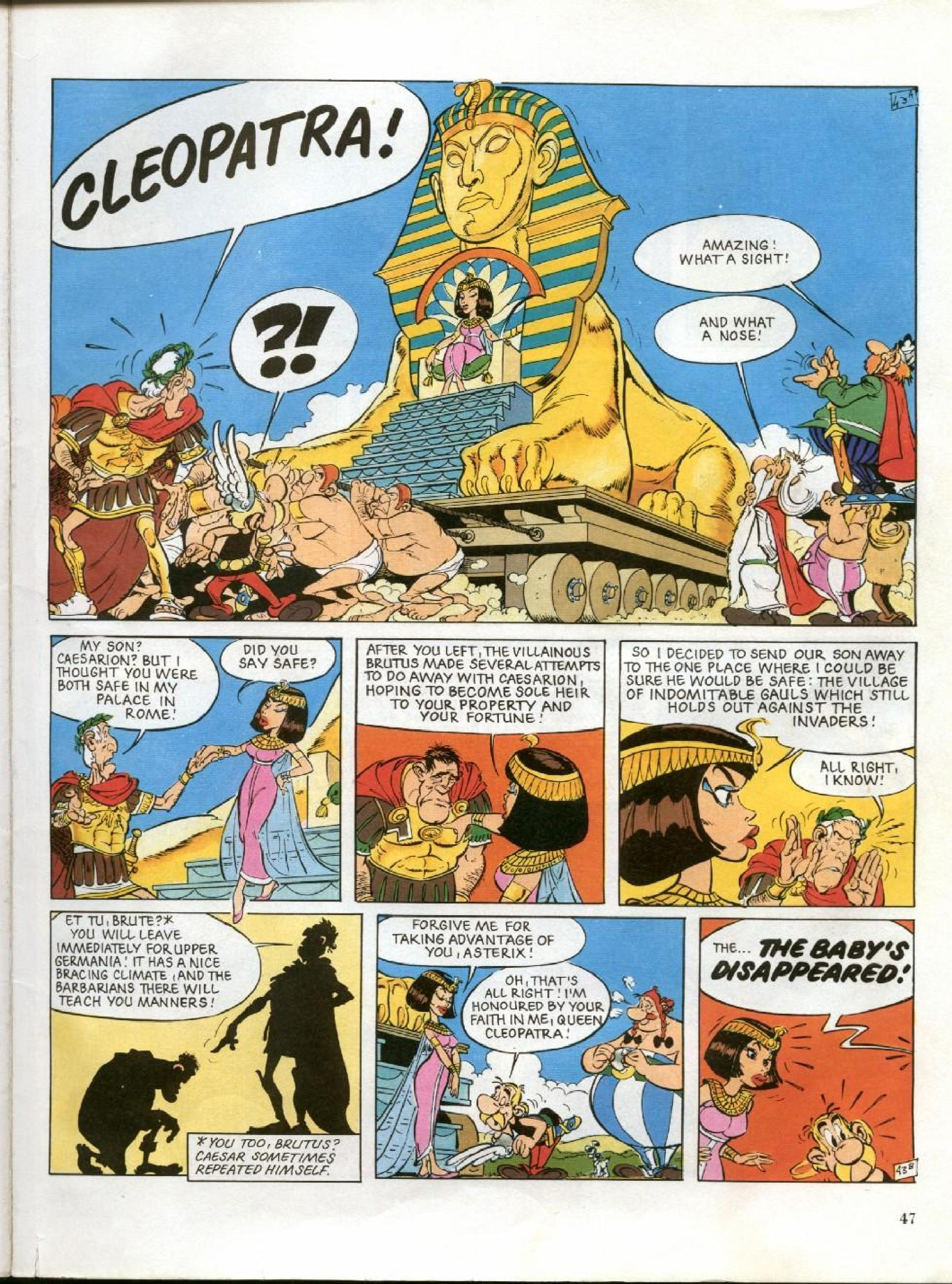 Read online Asterix comic -  Issue #27 - 44