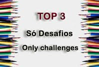 I made TOP 3 at So Desafios Challenge Blog