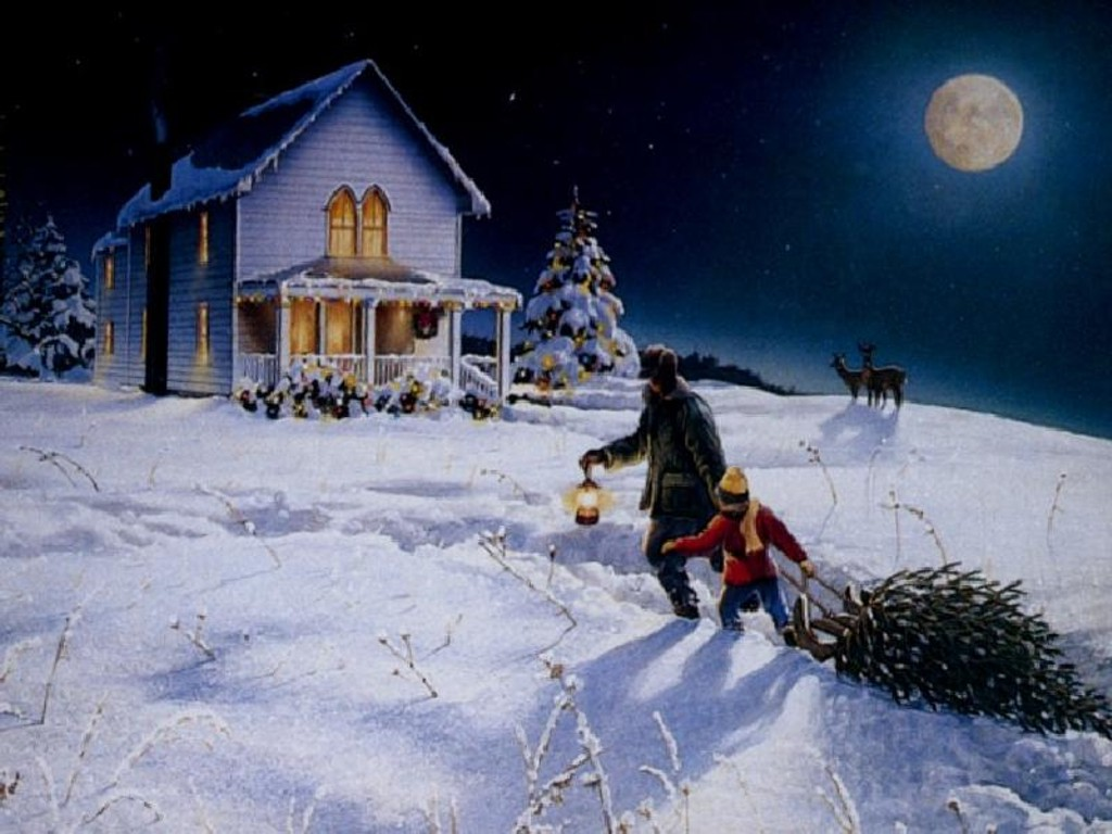 Daily Woman: Free Christmas Desktop Backgrounds
