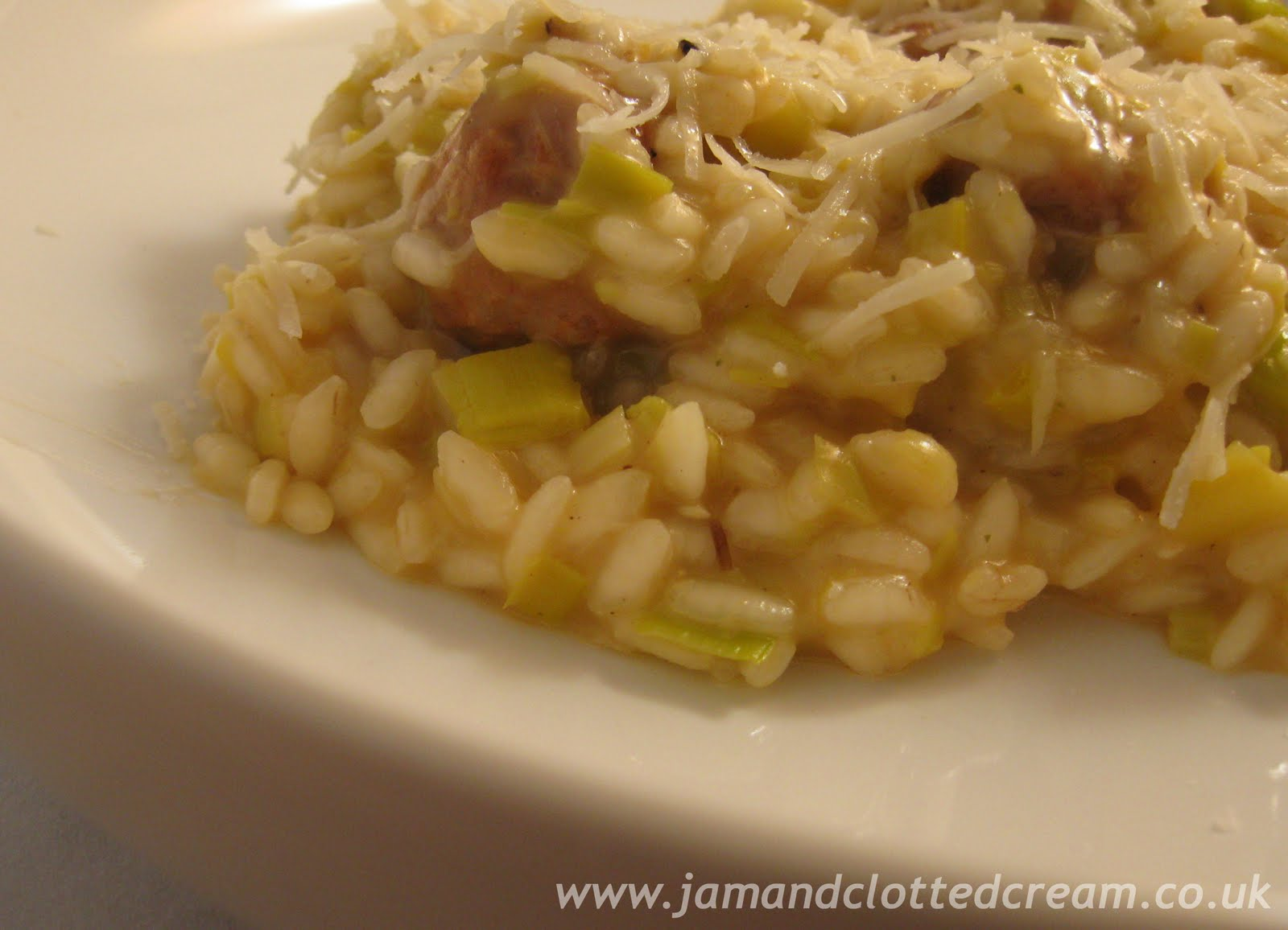 Chorizo, Leek and Thyme Risotto