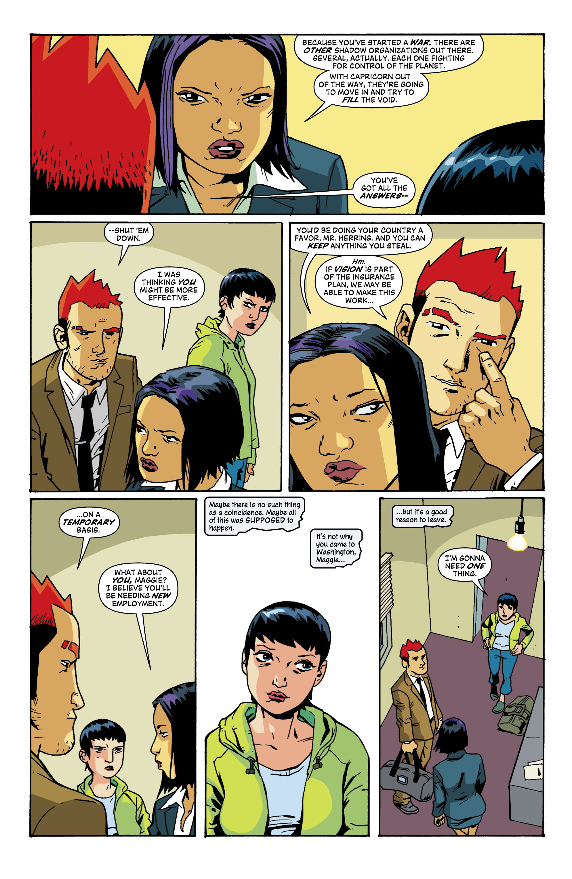 Read online Red Herring comic -  Issue #6 - 15