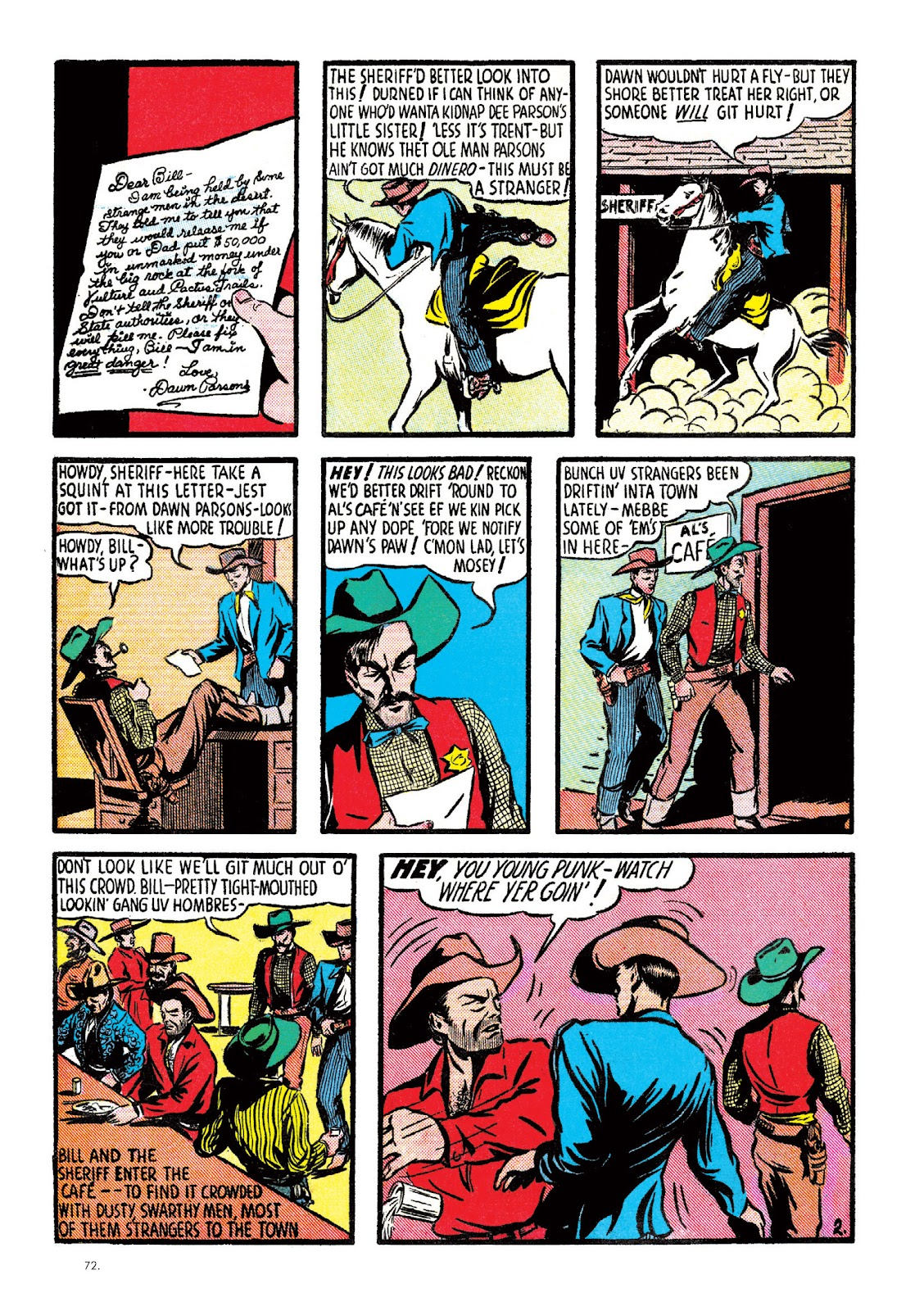 Read online The Bill Everett Archives comic -  Issue # TPB 2 (Part 1) - 73