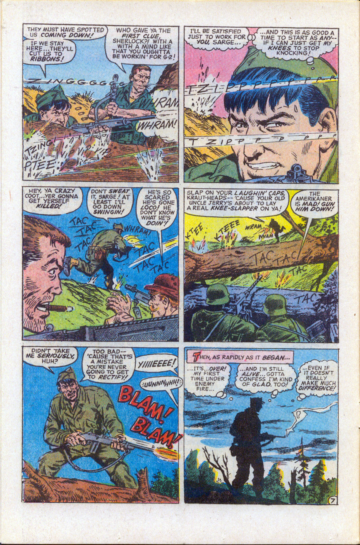 Read online Sgt. Fury comic -  Issue #159 - 9