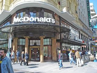 El primer Mc Donalds de Madrid