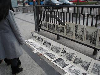 El vendedor de cuadros antiguos de Madrid