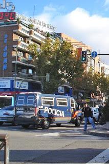 Haciendo cupo en Madrid