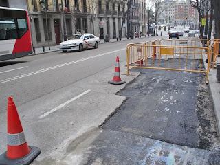 Por fin arreglan los baches de Madrid