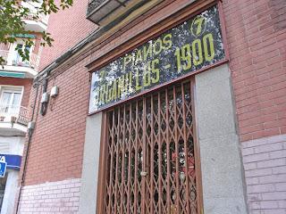 La última tienda de organillos de Madrid