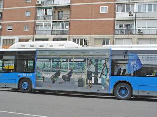 Adiós a los autobuses rojos de Madrid