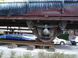 El vagón de tren de la Villa de Vallecas