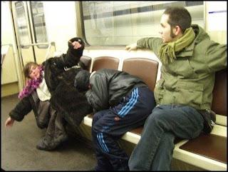 Las fotos más frikis del Metro