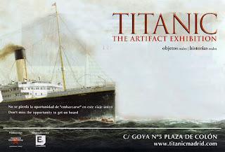 Planes para esta Navidad. El Titanic en Madrid