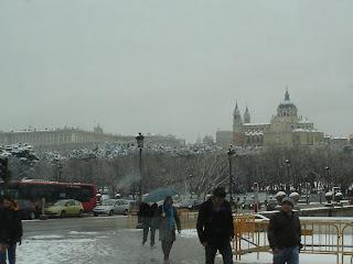 Fotos de la gran nevada en Madrid