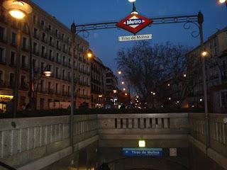 la incorregible Plaza de Tirso de Molina