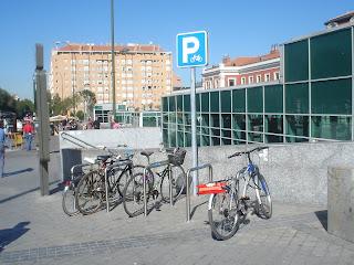 Los aparcamientos para bicis ¡¡¡ Si que se usan !!!
