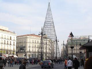 Preparando la Navidad en el Centro de Madrid