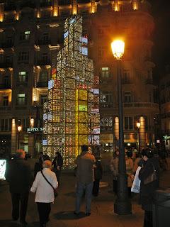 Las luces de Navidad de este año en Madrid.