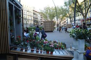 El Mercado floral de Madrid