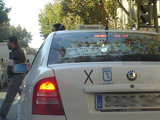 Nueva protesta taxista